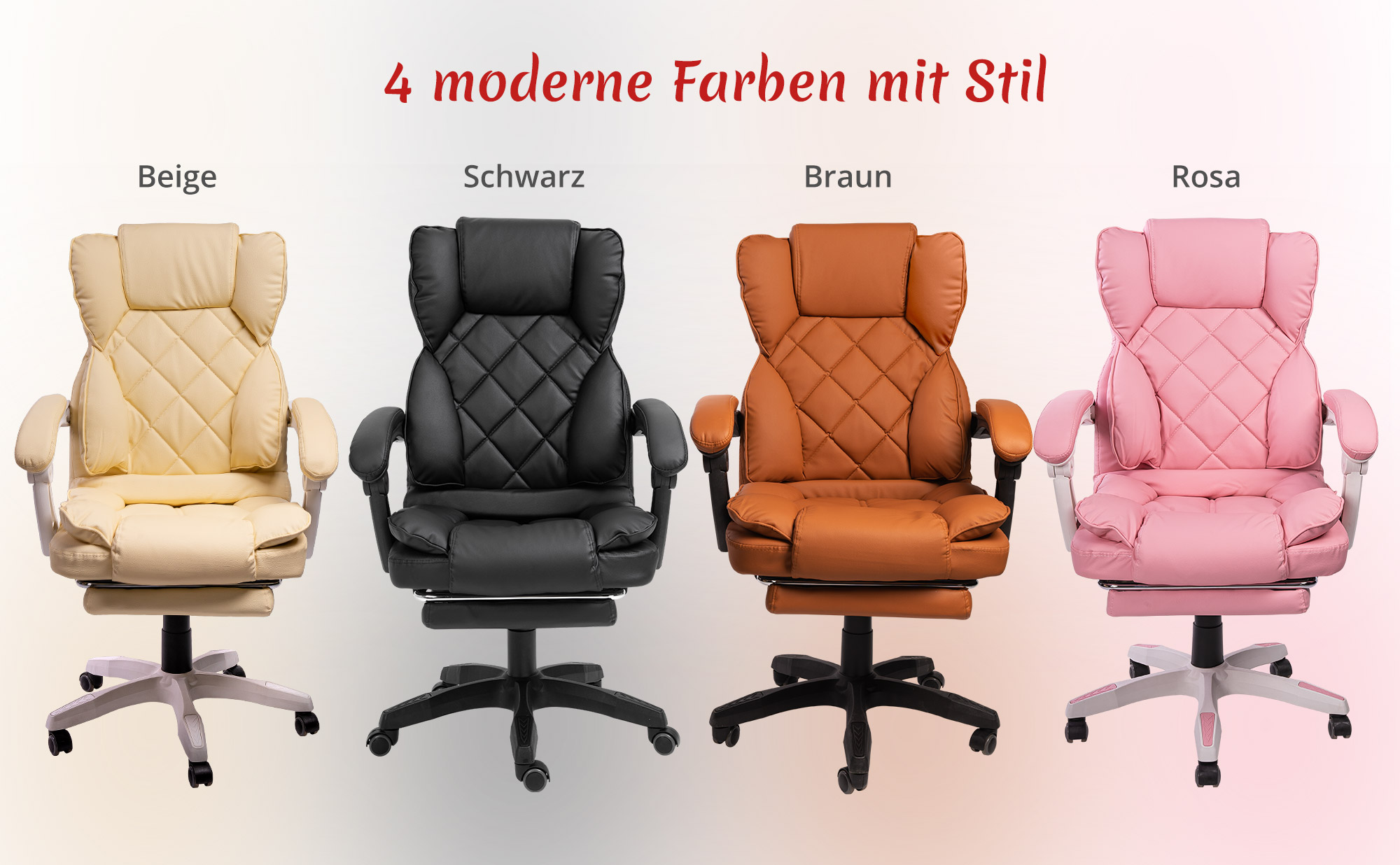 Details zu Schreibtischstuhl | Design Bürostuhl TV Sessel Chefsessel Relax & Home Office